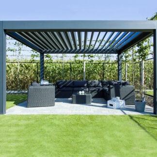 Lamellendach terrace roof