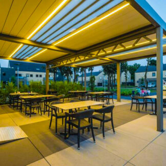 erweitern Sie in der Gastronomie und Hotels Ihre Terrassenzeiten