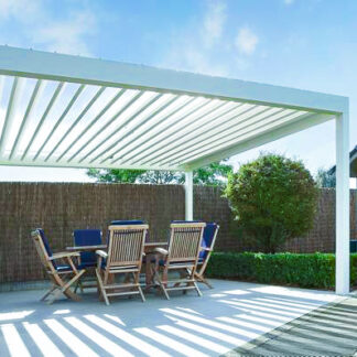 easy installation pergola terrace roof