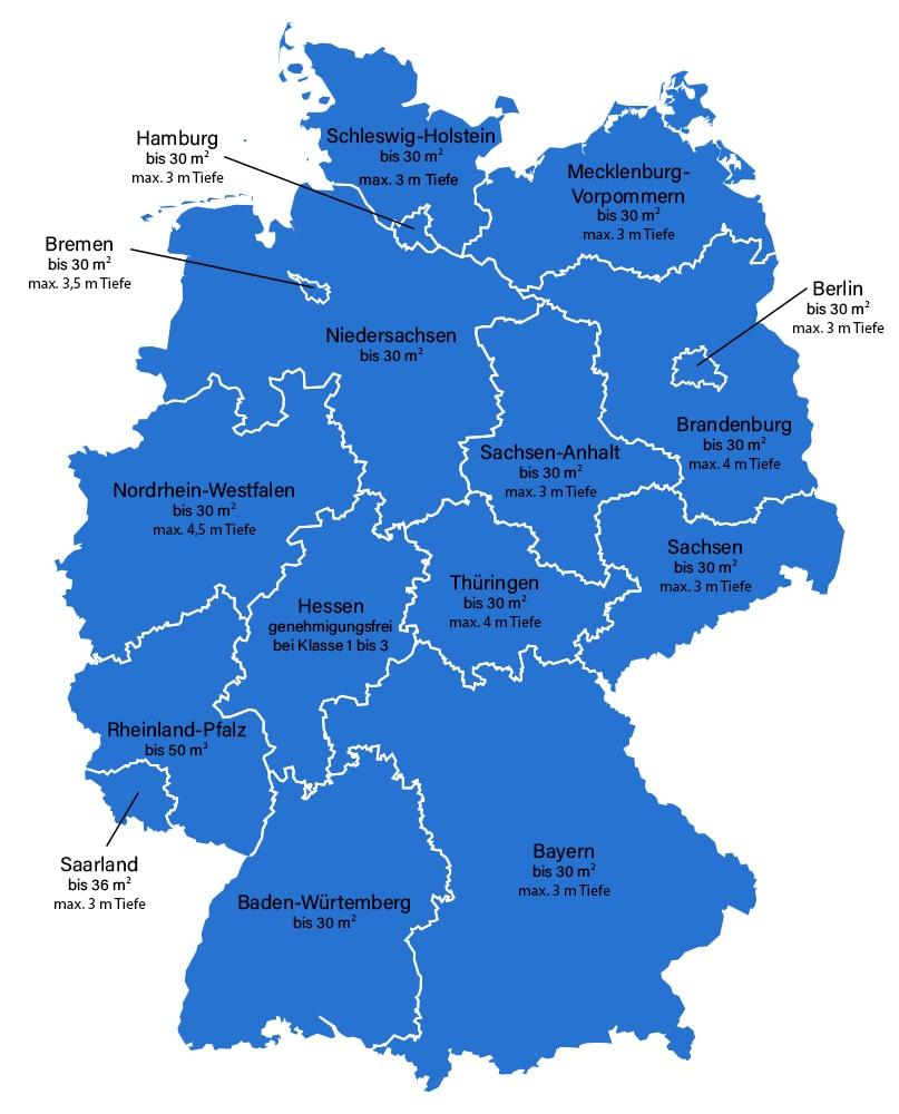 Terrassenüberdachung Baugenehmigung Deutschland