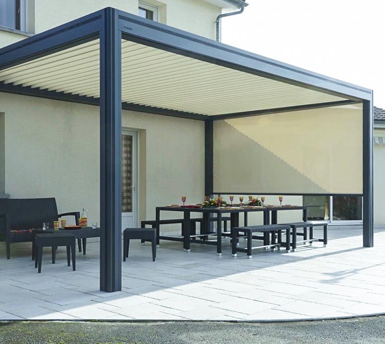 Unsere Lamellendächer sind langlebig und von perfekter Qualität