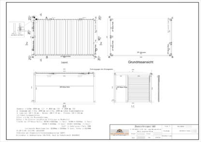 Lamellendach Qualitätskontrolle- my-pergola24.com - Produktionsfreigabezeichnung