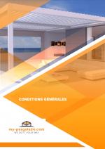 Conditions Générales - my-pergola24