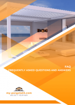 Frequently Asked Questions about our Louvre patio roofs